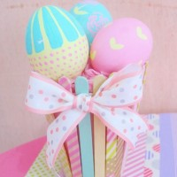 DIY Pastel easter basket