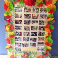 Membuat Frame di Kelas Prakarya Sekolah Rumpin