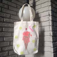 Workshop : Hand Print Art On Tote Bag