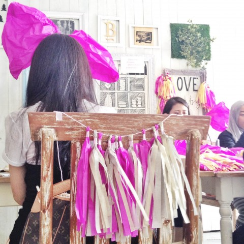 Workshop : DIY Bridal Shower Party Decoration TBDxkittymanu