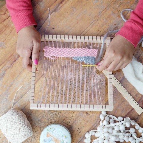 #TBT : Weaving Playdate