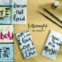LL Happy Nest : Chocolate Making & Free Hand Lettering