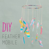DIY : Feather Mobile