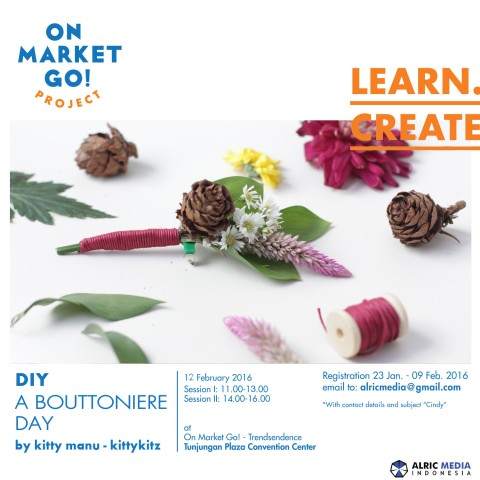 Workshop : A Boutonniere Day