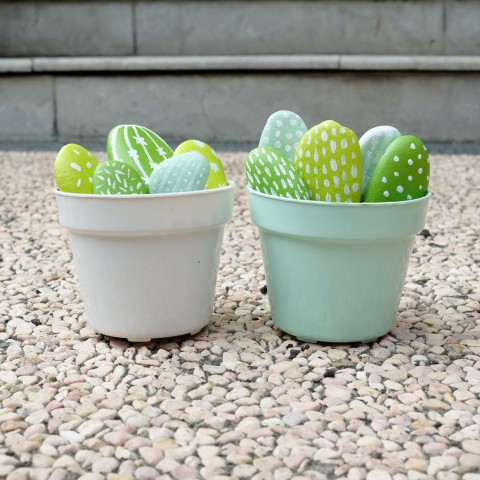 DIY : Painted Rock Cactus