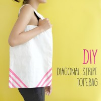 DIY : STRIPE TOTE BAG 2