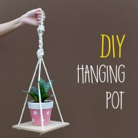 DIY : Hanging Pot