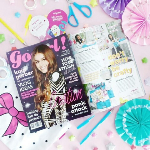 PRESS : GOGIRL MAGAZINE JUNE 2016