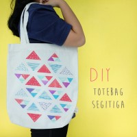 DIY : TOTEBAG SEGITIGA
