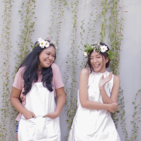 DIY : FRESH FLOWER HAIR CROWN