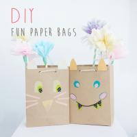 DIY : Fun Paper Bags