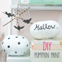 DIY (HALLOWEEN EDITION): Paint A Pumpkin!
