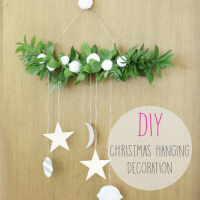 DIY : Christmas Hanging Decoration