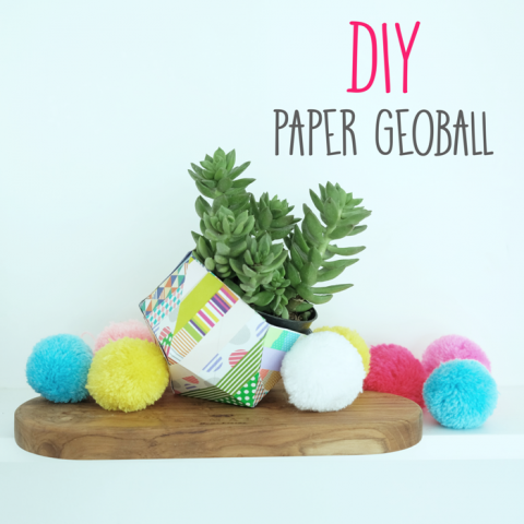 DIY: Paper Geoball