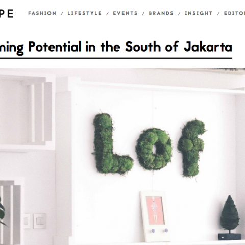 PRESS : A Blossoming Potential in the South of Jakarta – INHYPE