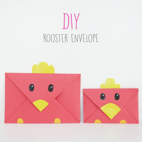 DIY : Rooster Envelope