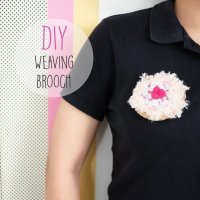 DIY : Weaving Brooch