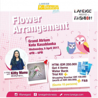 Workshop : Flower Arrangement