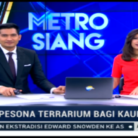 PRESS : METROTV NEWS – Pesona Terrarium Bagi Kaum Urban